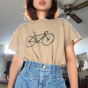 Tops - VTG Nude Bicycle Tee